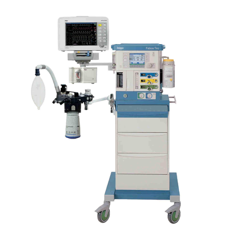 Наркозно-дыхательный аппарат Drager Fabius Tiro